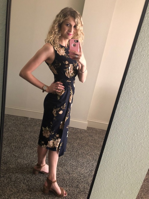 Nine Britton - Abigail Brushed Knit Midi I got in my September Stitch Fix. LOVE this dress.